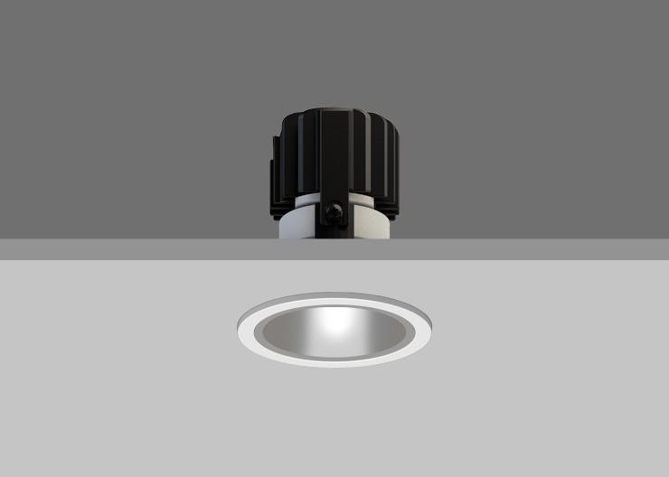 Satin Silver Reflector